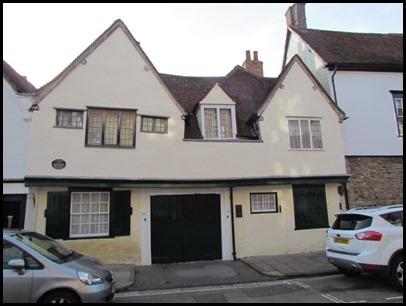 d 15th century house