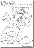 000 - excavadora- blogcolorear.com