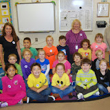 WBFJ Cici's Pizza Pledge - Hasty Elementary - Mrs. Johnson's Kindergarten Class - Thomasville - 11-1