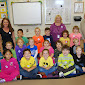 WBFJ Cicis Pizza Pledge - Hasty Elementary - Mrs. Johnsons Kindergarten Class - Thomasville - 11-1