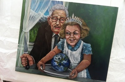 kissinger and beatrix devide the planet