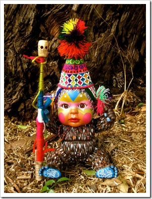 belinda suzette painted doll