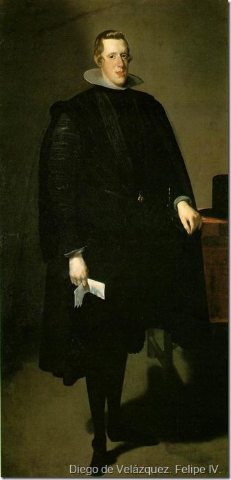 Diego de Velázquez. Felipe IV.
