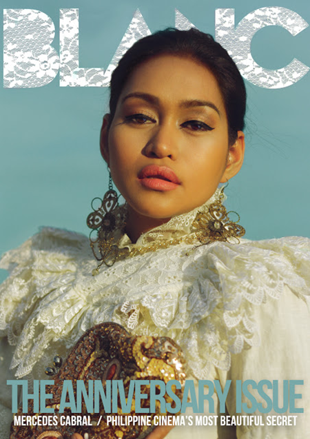 Mercedes Cabral on Blanc March 2013 cover