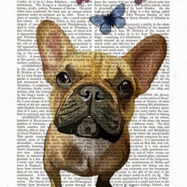 Bulldog_FrenchBulldogButterflies_DicPrint-300x300
