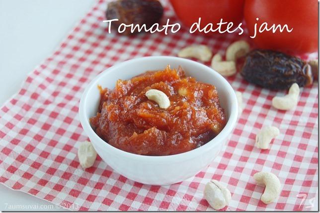Tomato dates jam