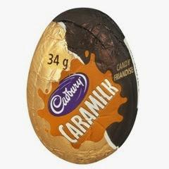caramilk egg