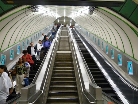Imagini Londra: statia de metro Paddington