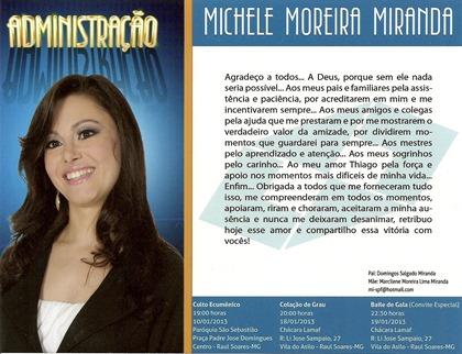 Formatura De Michele Moreira Miranda Pascoal Online Notícia E