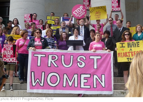 'Rep. Antonio and Others Stands Up for Womens' Rights ' photo (c) 2011, ProgressOhio - license: http://creativecommons.org/licenses/by/2.0/