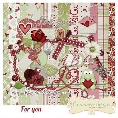 love free digiscrap kit