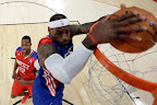 lebron james nba 130217 all star houston 42 game 2013 NBA All Star: LeBron Sets 3 pointer Mark, but West Wins
