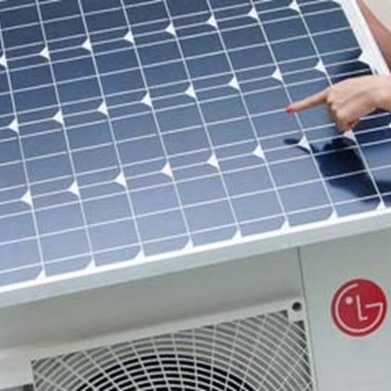 Aire Acondicionado que funciona con energía solar