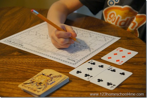 Math Worksheet - Subtraction practice for 1st grade, 2nd grade, and 3rd grade students