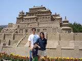 The Great Khan's Palace at Kambalu, at the Fukiage Beach Sand Festival