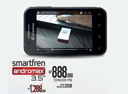 harga andromax 3.5