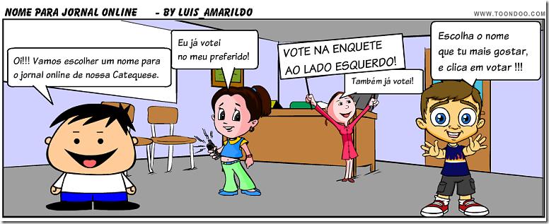 Votar nome Jornal Online
