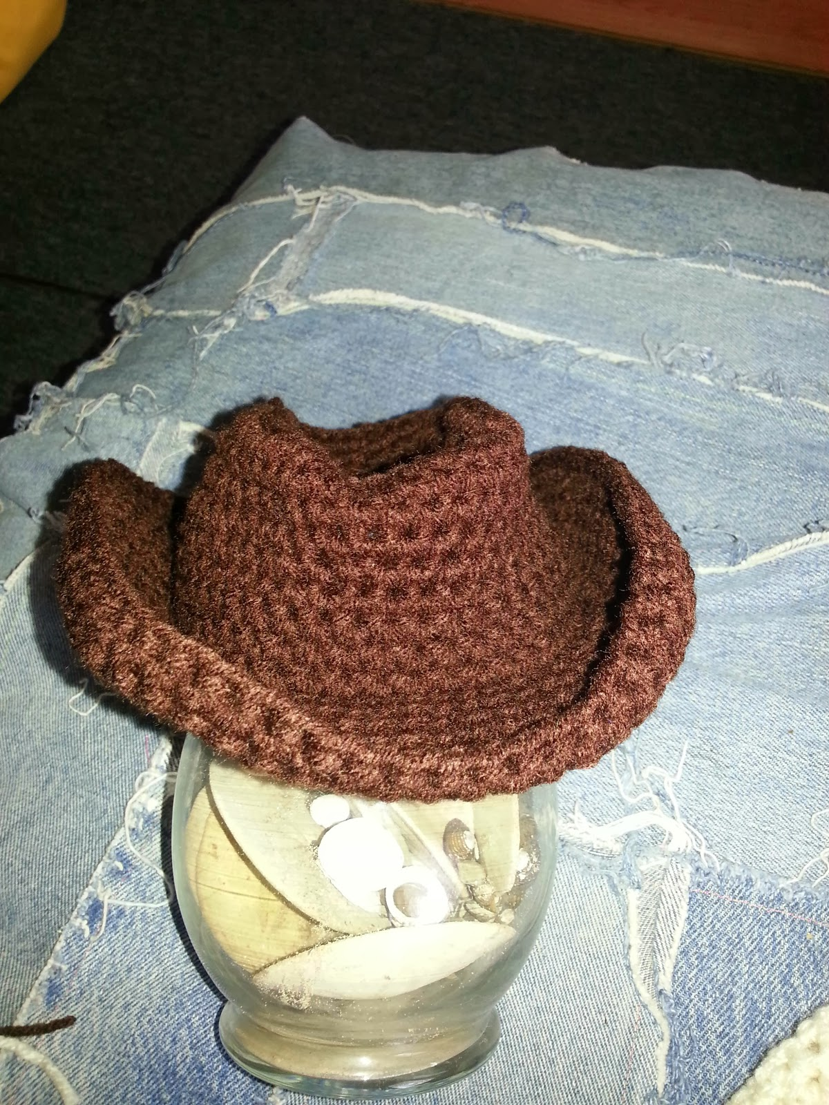 Crochet Cowboy Boots With Spurs Free Pattern
