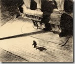 Hopper - night shadows