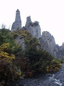 The Pinnacles.