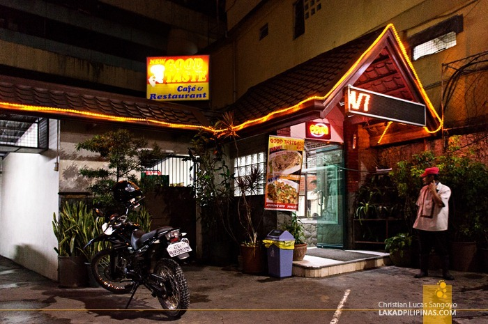Baguio City's Good Taste Cafe and Restaurant