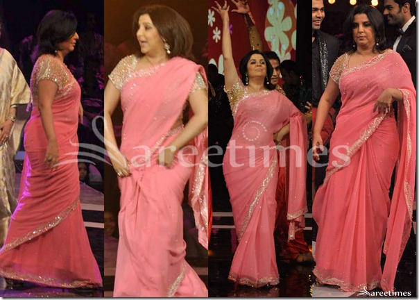Farah_Khan_Pink_Saree