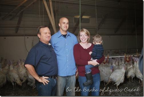 KCWI turkey farm tour