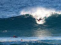 Die Welle gut erwischt