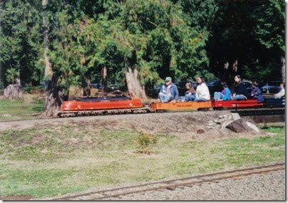 11 Pacific Northwest Live Steamers in 1998