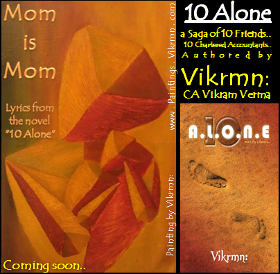 10 Alone Lyrics by Vikrmn : Mom is Mom..