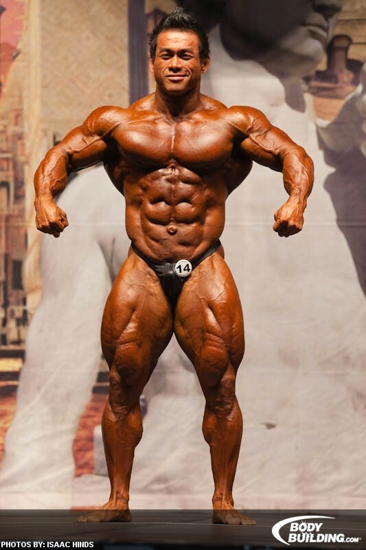 Hidetada Yamagishi won his first IFBB pro show, Orlando Show of Champions