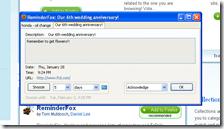 secreenshot - calendario reminderfox