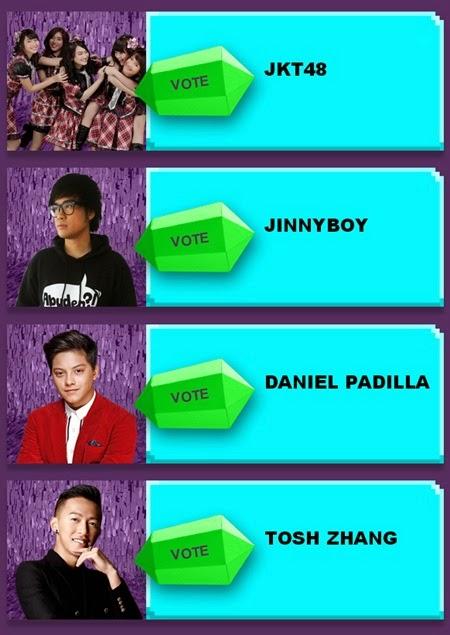 Nickelodeon Kids' Choice Awards - Favorite Asian Act