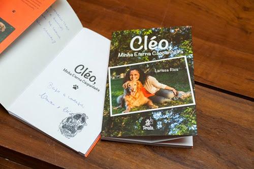CLÉO, MINHA ETERNA CÃOPANHEIRA.