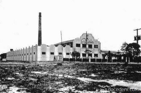 Fachada da fábrica Garoto