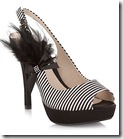 Faith striped feather shoes