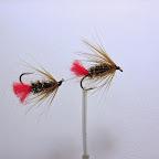 9. Worm Fly – tandem dwóch muszek połączonych plecionką.