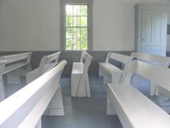Cape Cod Yarmouthportinside old Kelly church1