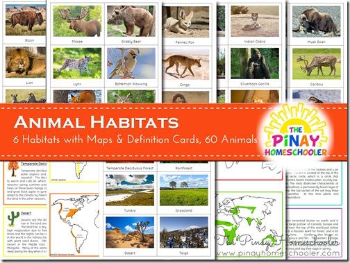 Animal Habitats | The Pinay Homeschooler