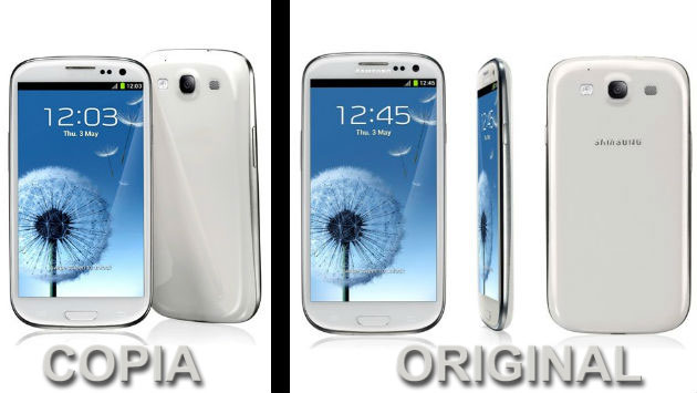 Made in china, samsung galaxy S3 Replica Android ice Cream sandwich ...