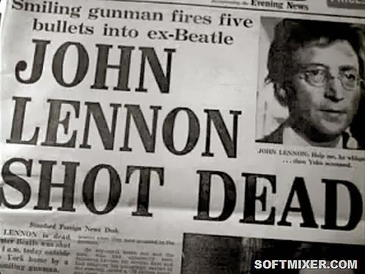 lennon shot dead