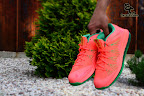 nike lebron 10 low gr watermelon 6 13 Release Reminder: Nike LeBron X Bright Mango aka Watermelon