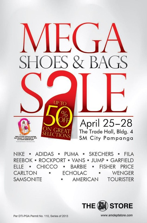 mega shoes and bags sale