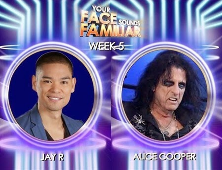 Jay-R transforms into Alice Cooper