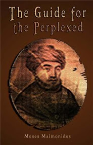 Cover of Moses Maimonides's Book The Guide For The Perplexed
