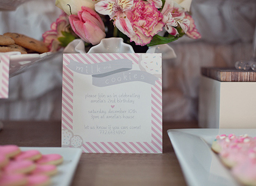Semplicemente Perfetto Lovely Milk Pink Gray Party 02