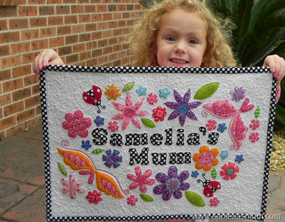 Samelia's Mum WallHanging 2
