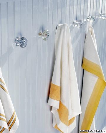 towel holder knobs