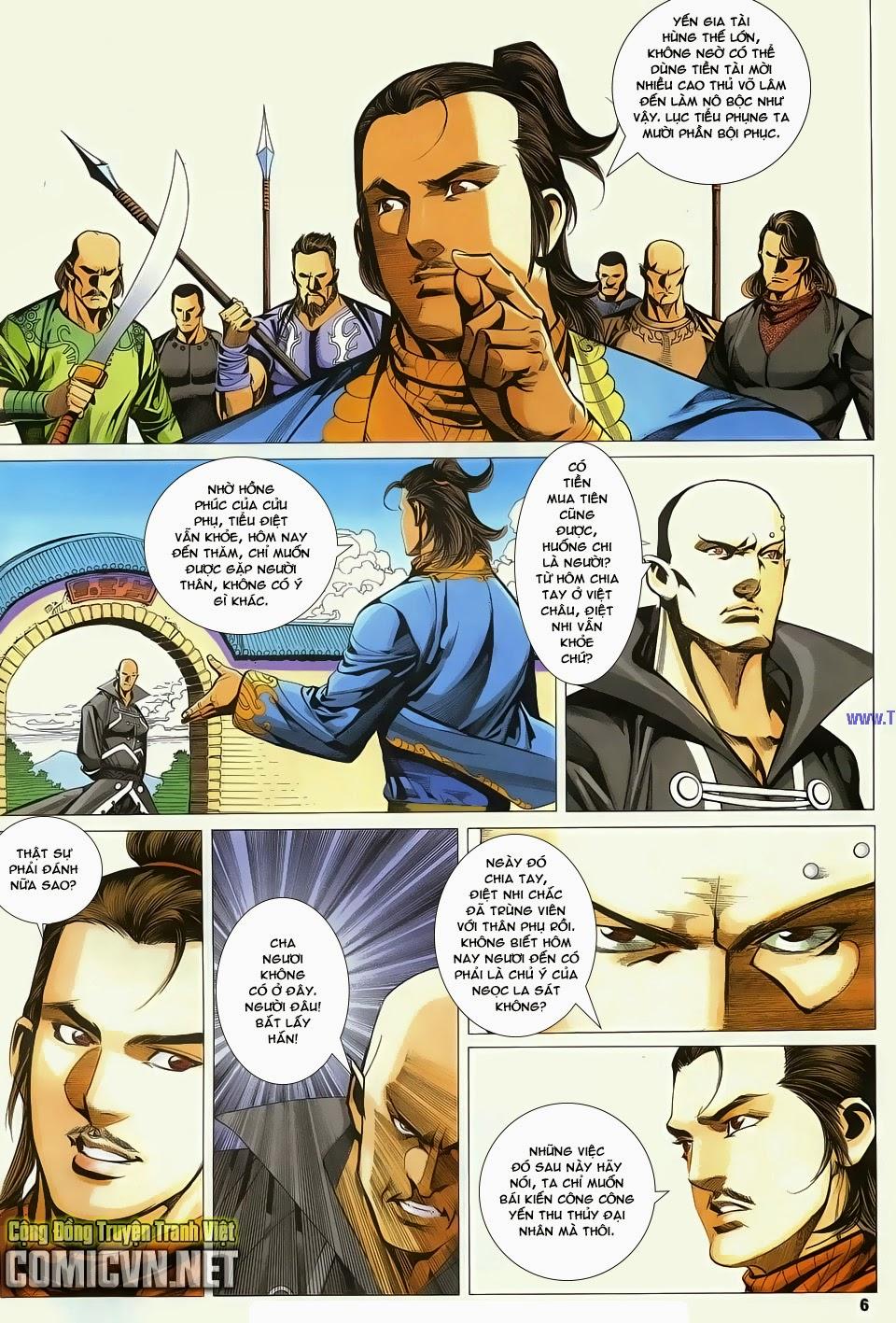 Cổ Long Quần Hiệp Truyện chap 83 - Trang 6