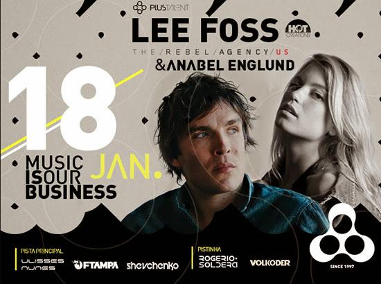 FTampa e Lee Foss são os destaques do sábado, dia 18, na Anzu Club em Itu
